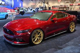 2015 Mustang Gt Black On Black Sema 2014 Mad Industries 2015 Ford Mustang Mustang News