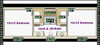 bathroom plan design ideas jack and jill 12x14 bathroom design