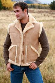 s sheepskin vest shearling apparel
