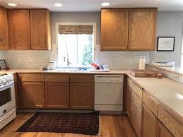 kitchen backsplash with oak cabinets and white appliances choosing backsplash tile for kitchen with oak cabinets and