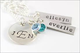 necklace monogram custom silver monogram necklace two name necklace monogram