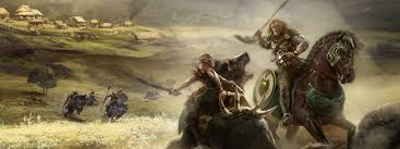 rohan wallpaper hobby horse tweaking lion rampant again