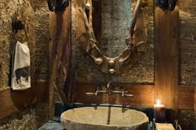 Log Cabin Bathroom Ideas 13 Cabin Bathroom Interior Decor Rustic Log Cabin Interior Houzz