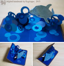 Punch Professional Home Design Youtube Pop Up Card Dolphin Original Handmade By Kagisippo