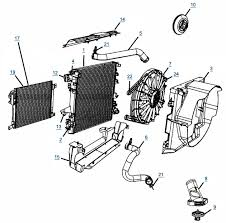 1999 jeep grand radiator replacement jk wrangler cooling parts 4 wheel parts