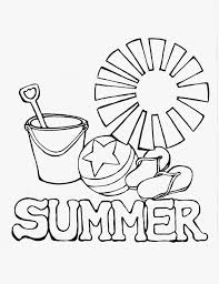 summer coloring pages coloringsuite