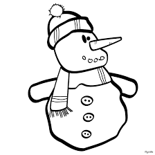 snow man image