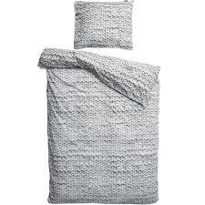 bed linen set twirre grey