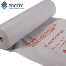 protec breathershield fr floor protection 1m x 100m roll