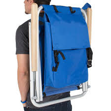Beach Chair Clearance Backpack Beach Chair Folding Portable Chair Blue Solid