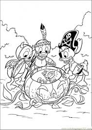 halloween coloring free donald duck coloring pages