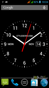 analog clock widgets for android analog clock widget 10 best analog clock widgets for android