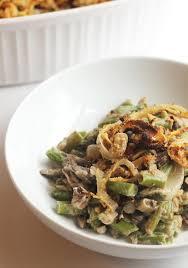 healthy green bean casserole vegan gluten free hummusapien