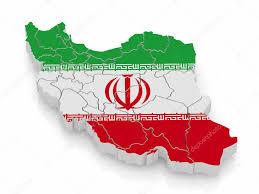 National Flag Iran Map Of Iran In Iranian Flag Colors U2014 Stock Photo Maxxyustas 5269554