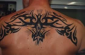 gnug back tribal design