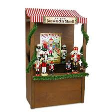 German Christmas Decorations Amazon by Byers U0027 Choice Nutcracker Market Stall Collectible Figurin Https