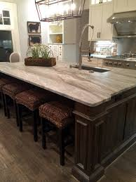 Dark Kitchen Island Light Granite River White Granite Kitchen Island Countertop