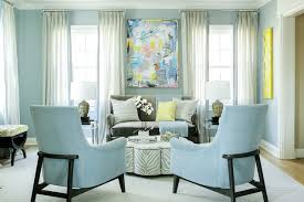 Home Paint Schemes Interior Living Room Transitional Living Room Blue Living Room Home