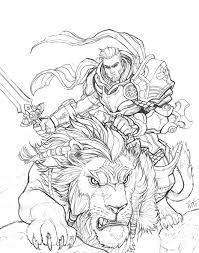 oondu lion rider
