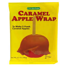 caramel apple wraps where to buy concord caramel apple wrap 6 5 ounce wraps value