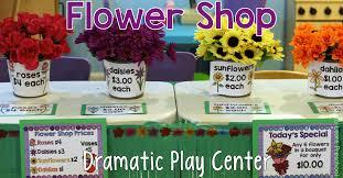 flowers shop flower shop springtime dramatic play center