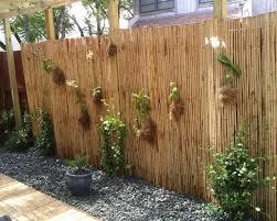 sichtschutz aus bambus selbst bauen kreative ideen für ihr