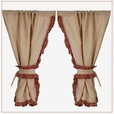 mod鑞e de rideaux de cuisine joli rideaux cuisine très cosy pour une idée déco cagne modele