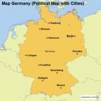 map of germany cities stepmap maps for germany