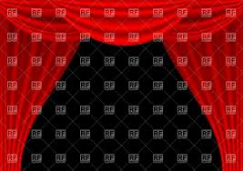 theater stage curtains vector image 25585 u2013 rfclipart