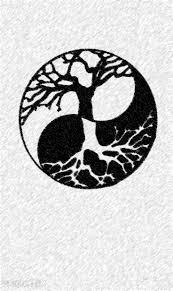 ying yang tree design ideas tree
