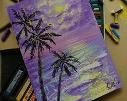 pastel drawings u0026 illustrations etsy