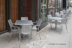 Restaurant Patio Tables by Tables Archives The Elemental Eye Peter Freeman