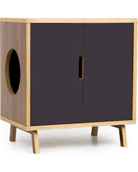 litter box side table amazing deal on mid century modern cat litter box furniture small