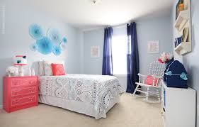 Pink And Blue Bedroom Blue And Coral Kids Bedroom How To Nest For Less