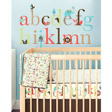 Alphabet Wall Decals For Nursery Alphabet Tree Wall Decal Wall Decals For Nursery Rooms Design