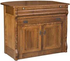 flanders kitchen island pull out table countryside amish furniture