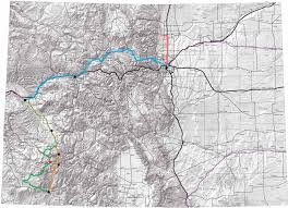 Colorado Front Range Map Denver Colorado Topography And Transportation Context Urban