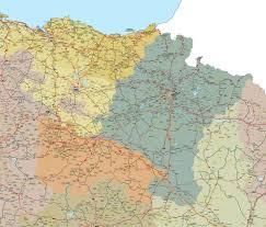 La Traffic Map Vectorized Maps Digital Maps Increase Search Engine Traffic