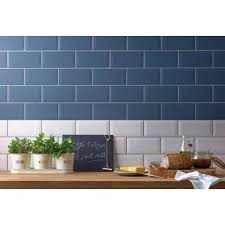 metro wall tile white 200 x 100mm 25 pack at homebase be