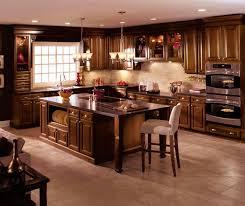 Dark Cherry Kitchen Cabinets Kitchen Cherry Wood Kitchen Cabinets Dark Cherry Kitchen