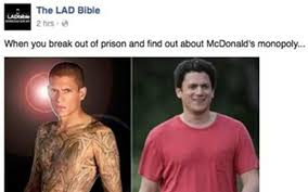 Challenge Lad Bible The Lad Bible Apologises To Wentworth Miller For That Shaming