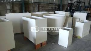 concrete planters planters concrete planter boxes perth bunnings box how to make