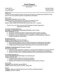 Host Resume Sample by Examples Of Cover Letters For Resumes Http Resumesdesign Com