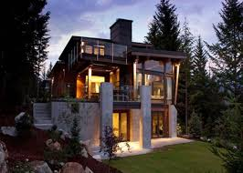 Small House Exterior Design Modern Design Homes Small Sustainable House With Glass Front Yard