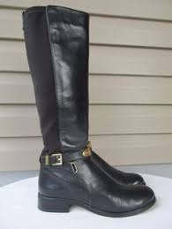 womens boots size 8 born boots s size 9 leather shearling lama fur brn