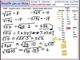free worksheets square roots of numbers 1 100 free math
