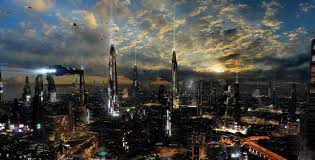future city desktop wallpapers this wallpaper