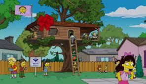 file tree house jpg image ralph s treehouse jpg simpsons wiki fandom powered by wikia