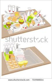 cartoon pictures of cleaning dirty dishes stock images royalty free images u0026 vectors