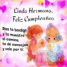 imagenes hermana querida feliz cumpleaños tarjetas de cumpleaños con afecto par mi hermana querida imágenes